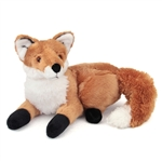 Stuffed Red Fox 13 Inch Laying Plush Animal By Fiesta