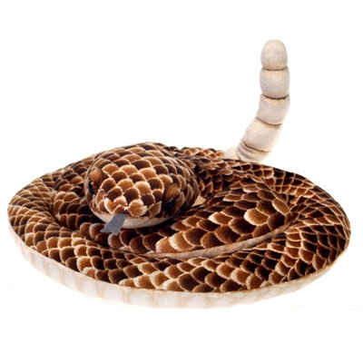 Plush Rattlesnake 73 Inch Stuffed Snake By Fiesta