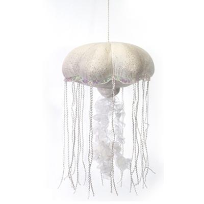 Plush Jellyfish 14 Inch Glittered Stuffed Animal By Fiesta