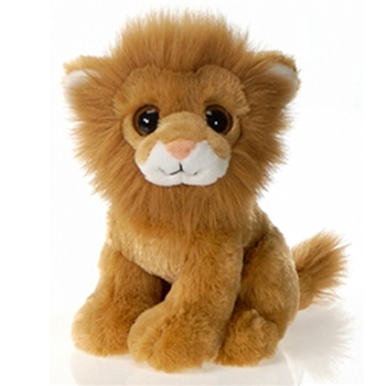 Lamane the Big Eyes Lion Stuffed Animal by Fiesta