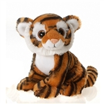 Tegg the Big Eyes Tiger Stuffed Animal by Fiesta