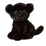 Pan the Big Eyes Panther Stuffed Animal by Fiesta