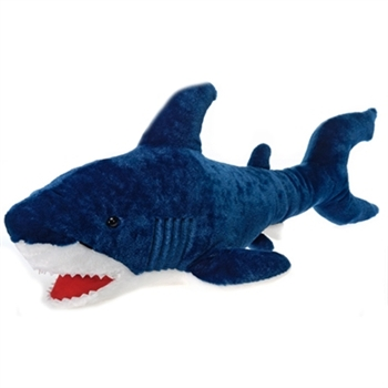 Large Stuffed Blue Shark 29 Inch