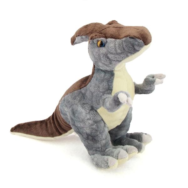 Stuffed Parasaurolophus 15 Inch Plush Dinosaur By Fiesta