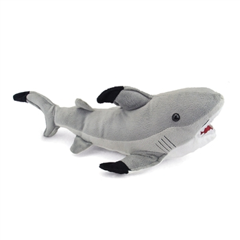 Stuffed Shark 16 Inch Plush Animal by Fiesta