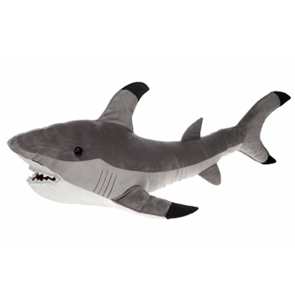 Shark Toys At Walmart : Large stuffed shark inch plush animal by fiesta
