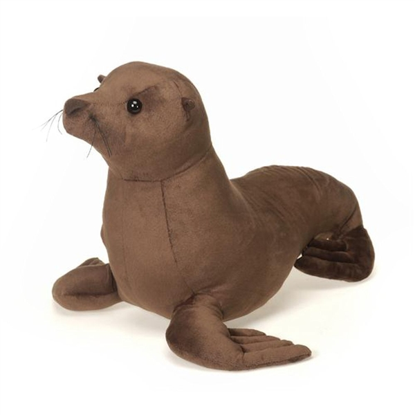 large stuffed sea lion 20 inch plush animal by fiesta. Black Bedroom Furniture Sets. Home Design Ideas