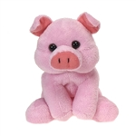 Small Plush Pig Lil Buddies by Fiesta