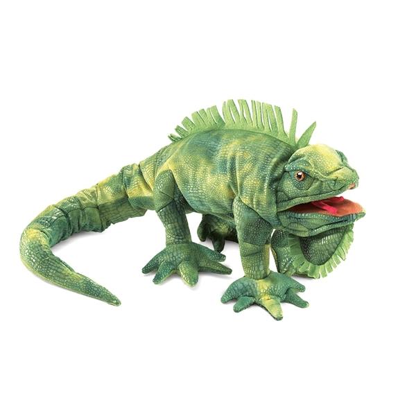 Full Body Iguana Puppet By Folkmanis Puppets At Stuffed Safari