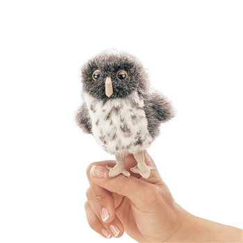 Spotted Owl Finger Puppet by Folkmanis Puppets