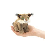 Bobcat Finger Puppet by Folkmanis Puppets