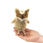 Great Horned Owl Finger Puppet by Folkmanis Puppets