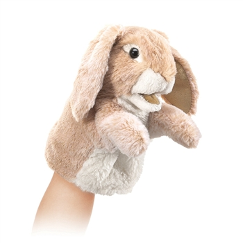 Little Lop Rabbit Hand Puppet by Folkmanis Puppets