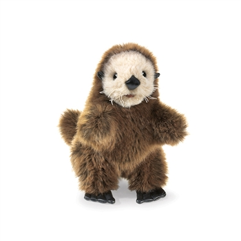Full Body Baby Sea Otter Puppet by Folkmanis Puppets