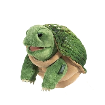Little Turtle Hand Puppet by Folkmanis Puppets