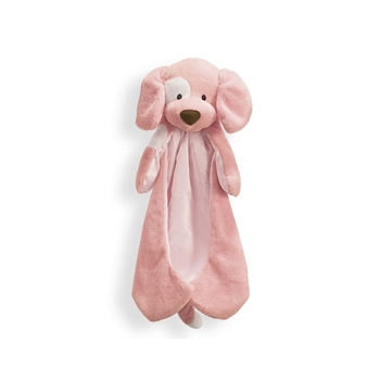 Spunky the Plush Pink Dog Huggybuddy Baby Blanket by Gund