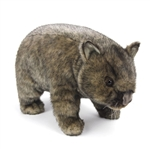 Handcrafted 15 Inch Lifelike Wombat Stuffed Animal by Hansa