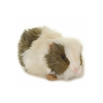Handcrafted 8 Inch Lifelike Gray Guinea Pig Stuffed Animal by Hansa