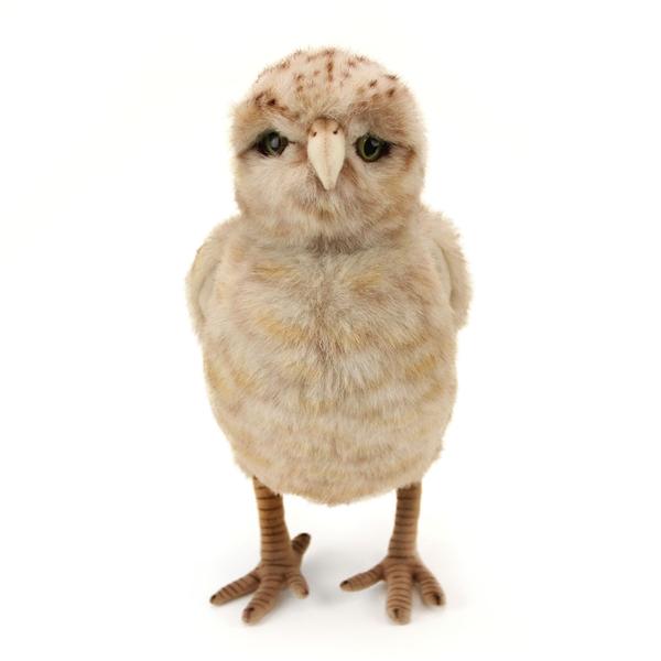 Handcrafted 12 Inch Lifelike Burrowing Owl Stuffed Animal