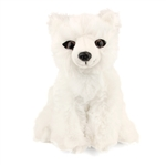 Stuffed Arctic Fox Conservation Critter by Wildlife Artists