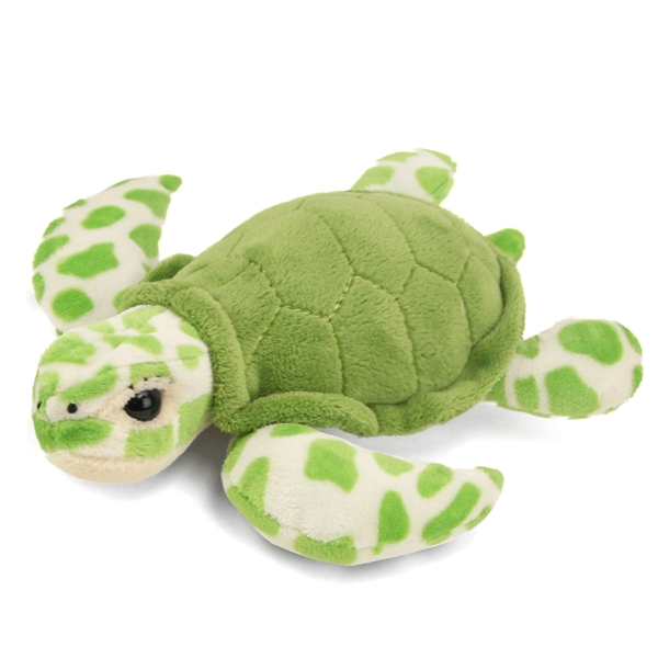Stuffed Green Sea Turtle Conservation Critter By Wildlife