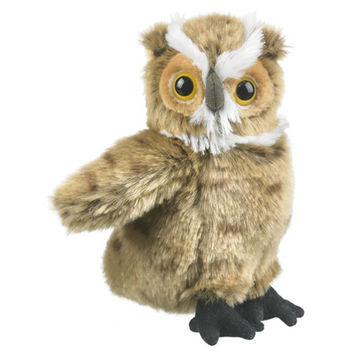 Stuffed Great Horned Owl Conservation Critter By Wildlife