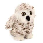Stuffed Snowy Owl Conservation Critter by Wildlife Artists