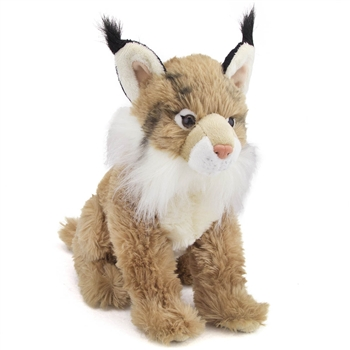 Plush Lynx 13 Inch Conservation Critter by Wildlife Artists