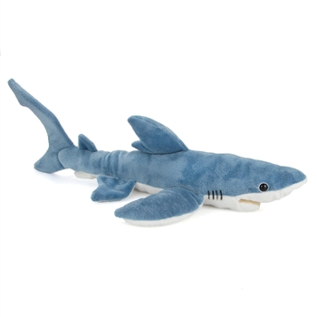 Plush Blue Shark 24 Inch Conservation Critter by Wildlife Artists
