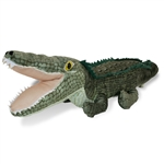 Plush Alligator 21 Inch Conservation Critter by Wildlife Artists
