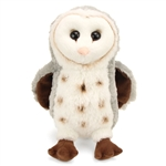 Plush Barn Owl 13 Inch Conservation Critter by Wildlife Artists