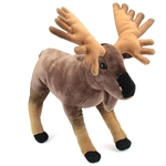 Plush Moose 16 Inch Conservation Critter by Wildlife Artists