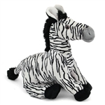 Large Stuffed Zebra Conservation Critter by Wildlife Artists