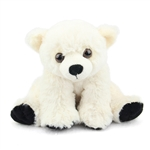 Baby Stuffed Polar Bear Mini Cuddlekin by Wild Republic