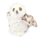 Stuffed Snowy Owl Mini Cuddlekin by Wild Republic
