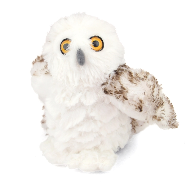 Stuffed Snowy Owl Mini Cuddlekin By Wild Republic At