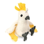 Stuffed Cockatoo Mini Cuddlekin by Wild Republic