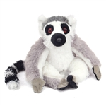 Stuffed Ring-tailed Lemur Mini Cuddlekin by Wild Republic