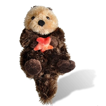 Stuffed Sea Otter Mini Cuddlekin by Wild Republic
