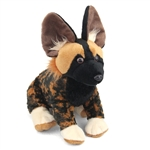 Cuddlekins African Wild Dog Stuffed Animal by Wild Republic