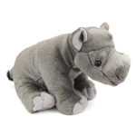 Baby Plush Rhinoceros 12 Inch Stuffed Animal Cuddlekin By Wild Republic