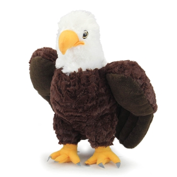 Plush Bald Eagle 12 Inch Stuffed Bird Cuddlekin By Wild Republic