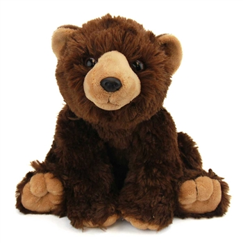 Plush Brown Bear 12 Inch Stuffed Bear Cuddlekin By Wild Republic