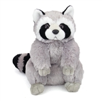 Plush Raccoon 12 Inch Stuffed Animal Cuddlekin By Wild Republic
