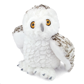 Plush Snowy Owl 12 Inch Stuffed Bird Cuddlekin By Wild Republic