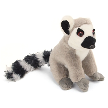 Stuffed Ring Tailed Lemur 5 Inch Itsy Bitsy by Wild Republic