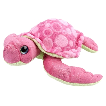 Pink Stuffed Sea Turtle Sweet and Sassy Plush Animal by Wild Republic