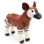 Plush Okapi 12 Inch Stuffed Animal Cuddlekin By Wild Republic