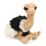 Stuffed Ostrich 12 Inch Cuddlekin by Wild Republic