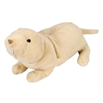 Stuffed Naked Mole Rat Mini Cuddlekin by Wild Republic